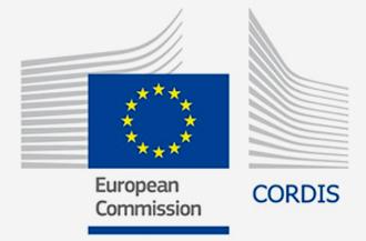 logo cordis comisión europea